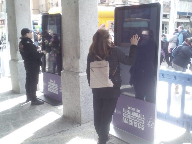 vitrines location interactif